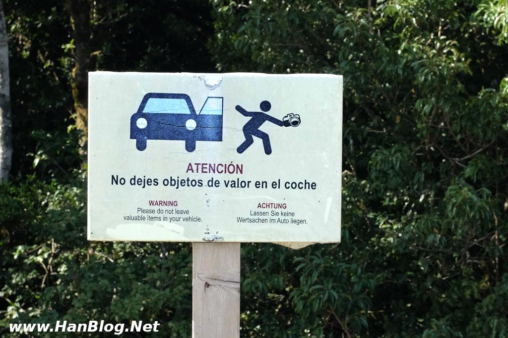 Teneriffa Auto Diebstahl